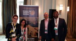 Доктор Силюк Татьяна (Россия), доктор Bessam Farjo (Великобритания), доктор Nilofer Farjo (Великобритания) и доктор Patrick Mwamba (Бельгия)