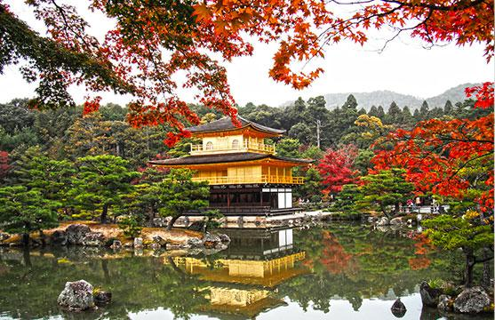Осенний Киото во всей красе